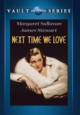 Next Time We Love 1936 (DVD) James Stewart, Margaret Sullavan, Ray Milland - New