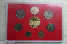 Hong Kong Currency Coins Set - 7 Coins with One Medal