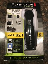 Remington Beard Mustache Trimmer Electric Shaver Rechargeable Men Grooming Kit