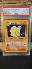 New listing 2000 Pokemon Game Base Set 2 Holo Ninetales Psa 10 Gem Mint!