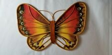 Spring Home Decor Wooden Butterfly Wall Hanging