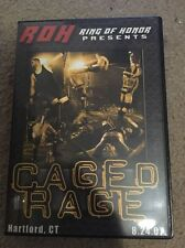 ROH Caged Rage Ring of Honor PWG Owens WWE Steen Generico v Briscoes in Cage