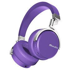 Bluedio Vinyl Stéréo Rotatif Casque Bluetooth 4.1 Sans fil Micro (Violet)