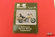 1987 KAWASAKI VOYAGER XII MOTORCYCLE SERVICE MANUAL SUPPLEMENT 99924-1089-51