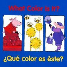 What Color Is It? / A+Que color es este? - Acceptable  - Board book