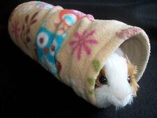 Cozy PETS CONEJILLO DE túnel Cama Casa Rata, Hurón, juego de lana, tubo, Juguete Woodland