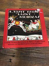 A Visit from Saint Nicholas- Clement C. Moore 1937 Reprint Berta & Elmer Hader