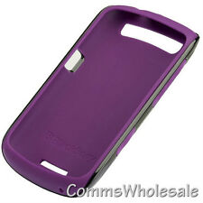 Genuine Blackberry ACC-39406-202 Purple/Black Premium Skin Curve 9370 9360 9350