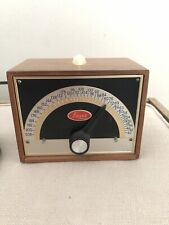 Franz Lm-Fb-5 Electric Metronome Vintage with Solid Walnut Cover Works