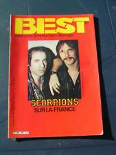 BEST 1984 187 SCORPIONS JUDAS PRIEST CHARLELIE COUTURE TOURE KUNDA THE BYRDS