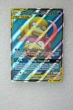 Pokemon Card TCG Slowpoke & Psyduck GX Full Art Unified Minds 217/236 Ultra Rare