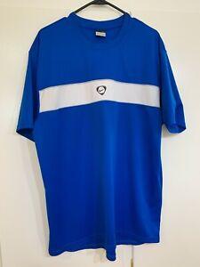 Men's NIKE Royal and White DriFit Shirt (XL)