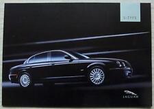 JAGUAR S TYPE Car Sales Brochure 2004 #JLM/10/02/21/04.5 V6 SPORT SE V8 Type R