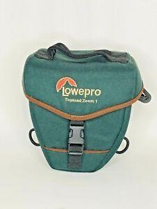 Green Lowepro Topload Zoom 1 Camera Case
