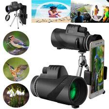 40X60 Zoom Optical Telescope Camera Lens +Holder+Tripod for Universal Phone