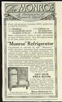 Refrigerators 1916 Monroe 1932 General Electric Lot Two Vintage Advertisements