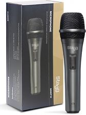 Stagg SDMP10 Dynamic Handheld Vocal Microphone inc XLR to Jack Cable