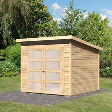 Gartenhaus Gerätehaus Schuppen Geräteschuppen Holz HORI Herning 19 242 x 246 cm