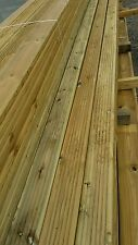 Decking boards 4.2mtrs long 125mm wide 32mm thick