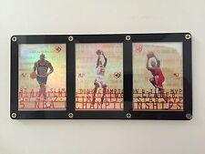 Michael Jordan UD3 97 MJ3 Complete Set 1 2 3 Die Cut Refractor Upper Fleer Topps