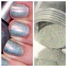 Sb Holográfico Rub en plata espejo cromo pigmento en Polvo Polvo uñas espejo * **