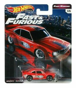 HOT WHEELS FAST AND FURIOUS FAST REWIND MAZDA RX3