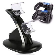 LED USB Charging Fast Charger Dock Station Stand For Sony PS4 Dual Controller