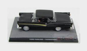Ford Fairlane Skyliner 1956 007 James Bond Thunderball EDICOLA 1:43 BONDCOL057