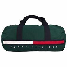 Tommy Hilfiger Gino Flag Duffle Bag | Botanical Green