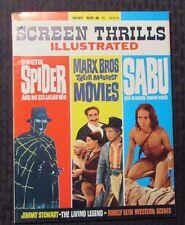 1964 SCREEN THRILLS ILLUSTRATED Magazine #8 VG+ 4.5 Sinister Spider
