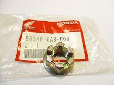 HONDA TRX250 FOURTRAX STEERING SHAFT CASTLE NUT TRX 250 90308-HA8-000 kc