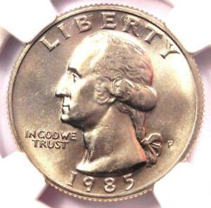 1985-P Washington Quarter 25C - NGC MS67 - Rare in MS67 Grade - $2,250 Value!