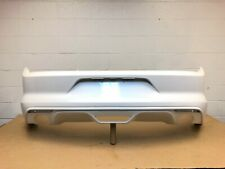 2015 2016 2017 ford mustang v6 rear bumper cover fr3b-17d781 (white platinum) #4