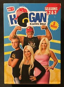 HOGAN KNOWS BEST SEASONS 1-3 DVD WWE WRESTLING MTV HULK HOGAN REALITY TV VH1