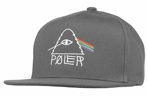 Poler Stuff Cap Hat Unstructured Snapback Psychedelic 2 Charcoal Camping Outdoor