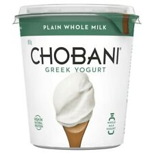 Chobani Whole Milk Plain Yogurt 907 gram