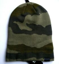 *SLOUCHY or CUFF UP* G-STAR Raw Camouflage Long BEANIE Hat Toque UNISEX E5