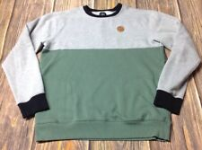 Volcom Men's Green/Gray Medium Sweatshirt Pre-owned