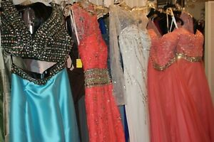 NWT Xtra large lot of seamstress Prom, Mothers, and bridesmaid dresses
