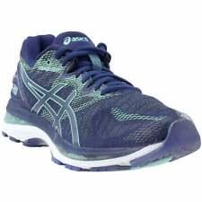 Asics GEL-NIMBUS 20, женские беговые кроссовки, обувь-синий