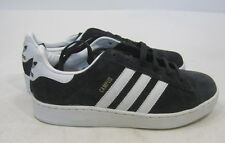 new Campus Suede Grade School (Black/White) 034906 YOUTH Size  5 - WOMEN 6.5