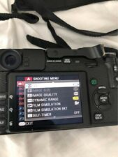 Fujifilm X Series X-Pro1 16.3MP Digital Camera - Black with some extras
