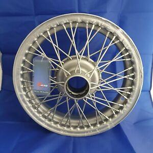 "MGA , HEALEY 100/4 100/6 TRIUMPH TR2 TR4 Wire Wheel, painted, 15"" x 4"", 48 spoke"