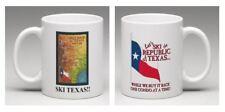 Republic of Texas Ski Map Logoed Mug- Ski Texas!!