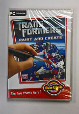 Transformers Paint and Create: The Fun Starts Here PC CD