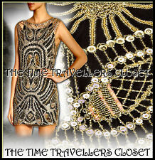 BNWT KATE MOSS TOPSHOP LTD EDITION 1 0F 50 EMBELLISHED COBWEB BEADED DRESS UK 12