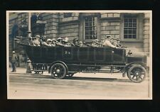 Somerset BATH Charabanc outing pre1919 RP PPC local pub Arthur Stone