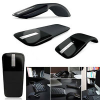 USB Arc Touch Wireless Home Office Optical Mouse Mice For PC Surface