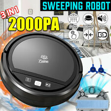 Smart Automatic Robot Vacuum - Robotic Auto Home Cleaning with Mop & Accessories