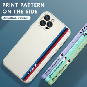 Phone Case For Samsung/iPhone 13 11 12 Pro Max XS XR SE 8 Liquid Silicone Cover